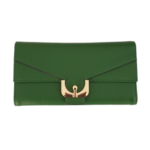 Coccinelle Green Leather Wallet (2)