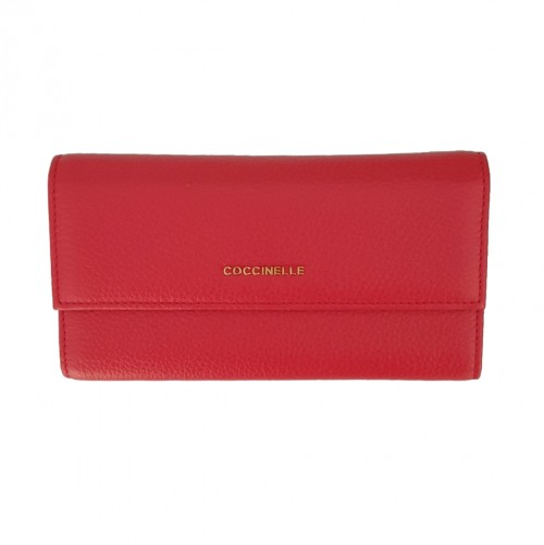 Coccinelle Red Leather Wallet (2)