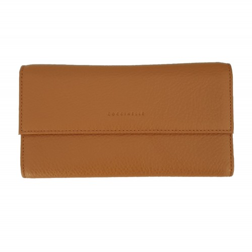 Coccinelle Tan Grain Leather Wallet (5)