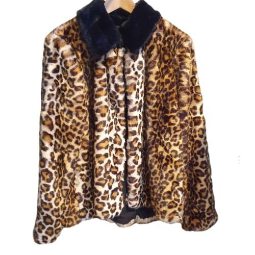 Furry Leopard Coat 1
