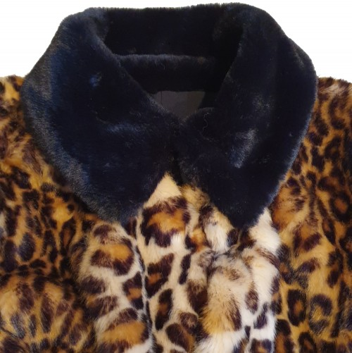 Furry Leopard Coat 2