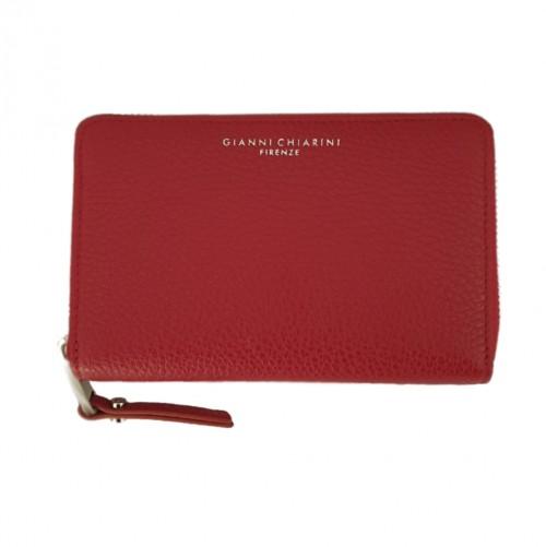 Gianni Chiarini Red Leather Wallet (2)