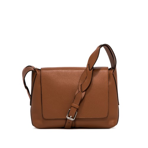 Gianni Chiarini Alba Tabac Leather Shoulder Bag