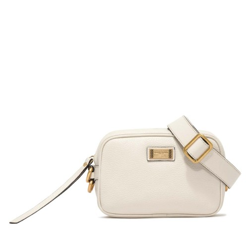 Gianni Chiarini Alyssa Ecru Leather Crossbody