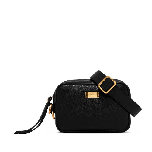 Gianni Chiarini Alyssa Black Leather Crossbody