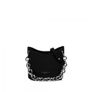 Gianni Chiarini Sophia Black Leather Bucket