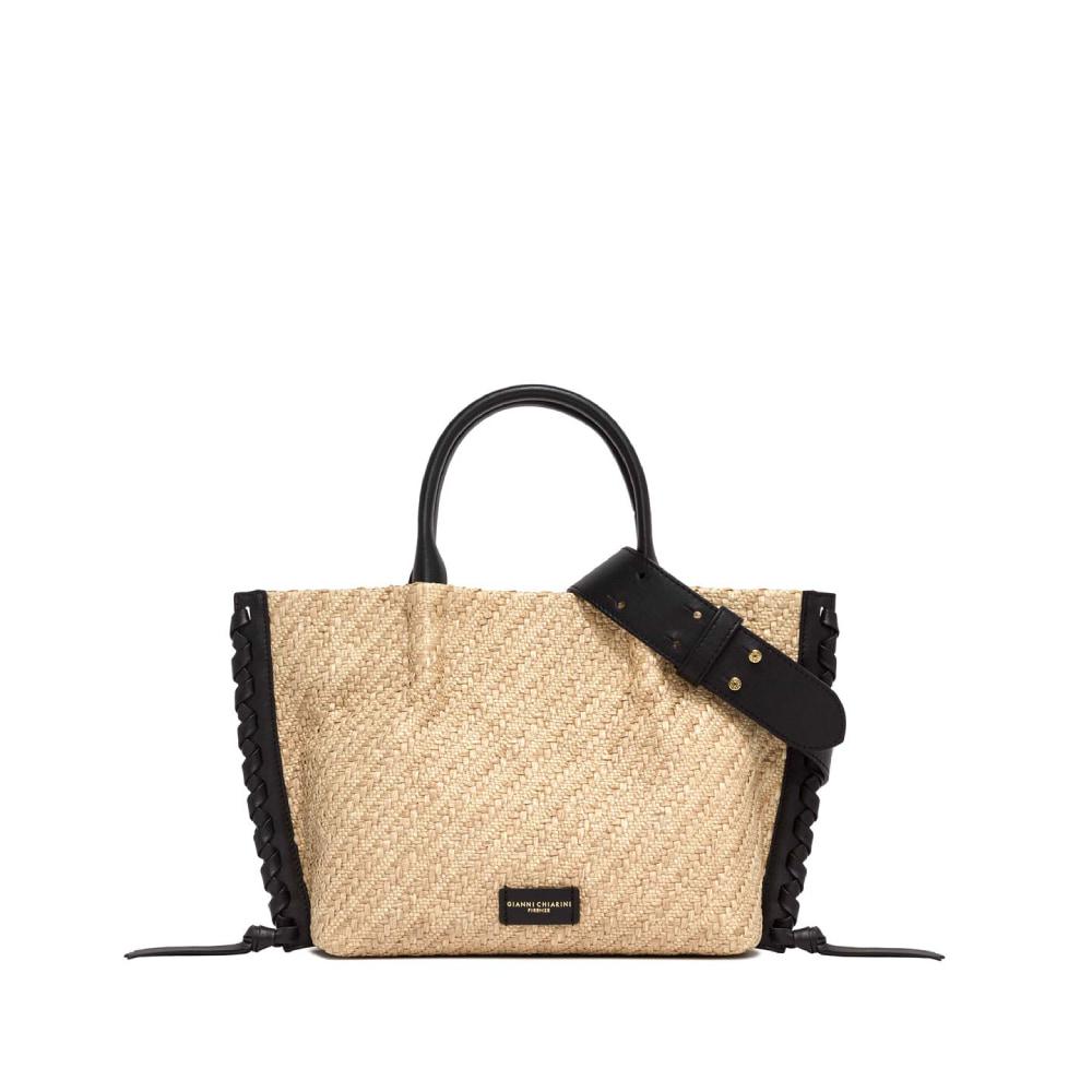 Gianni Chiarini Twenty Raffia Handbag