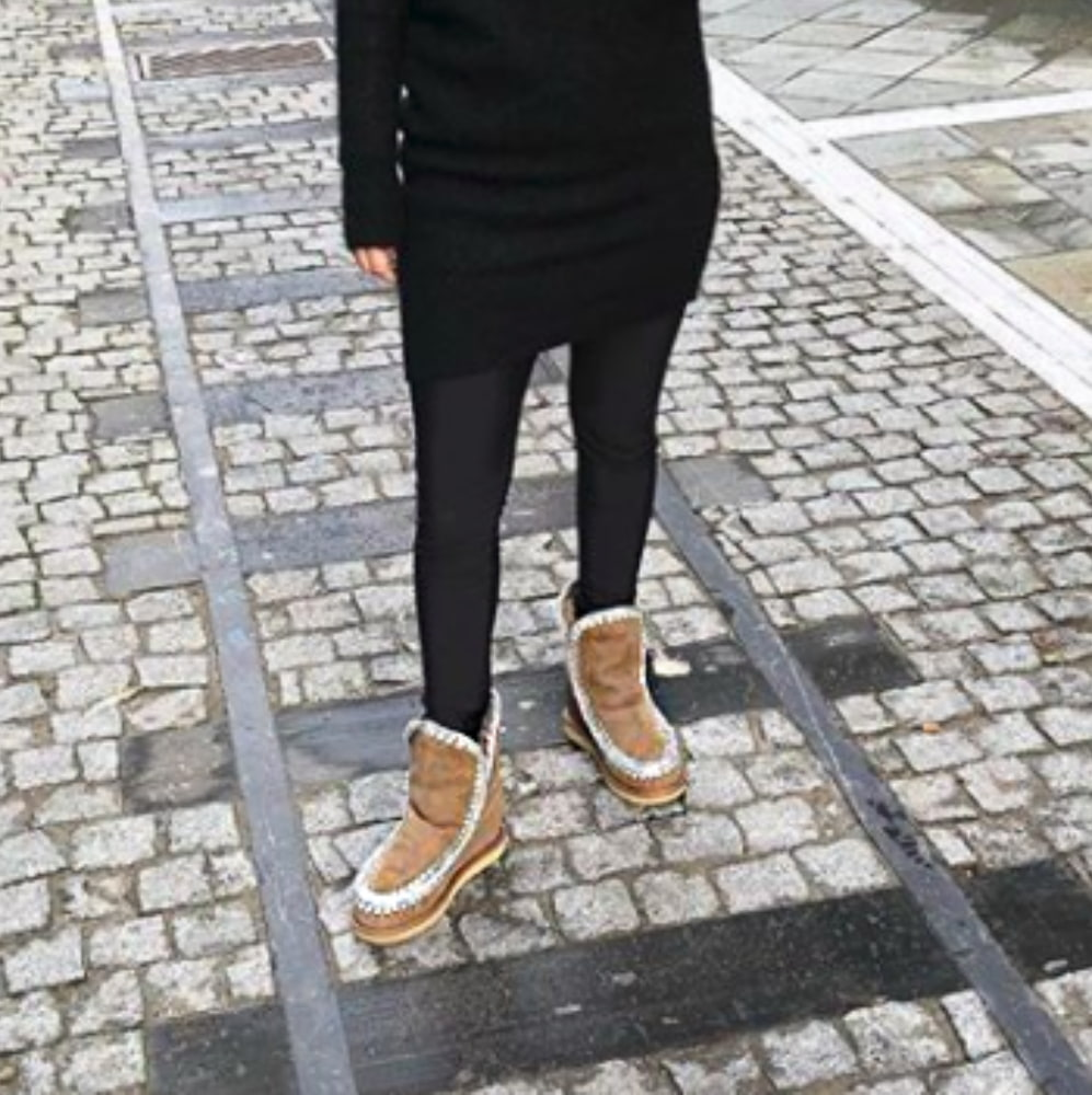 Mou Boots Eskimo Suede Inner Wedge