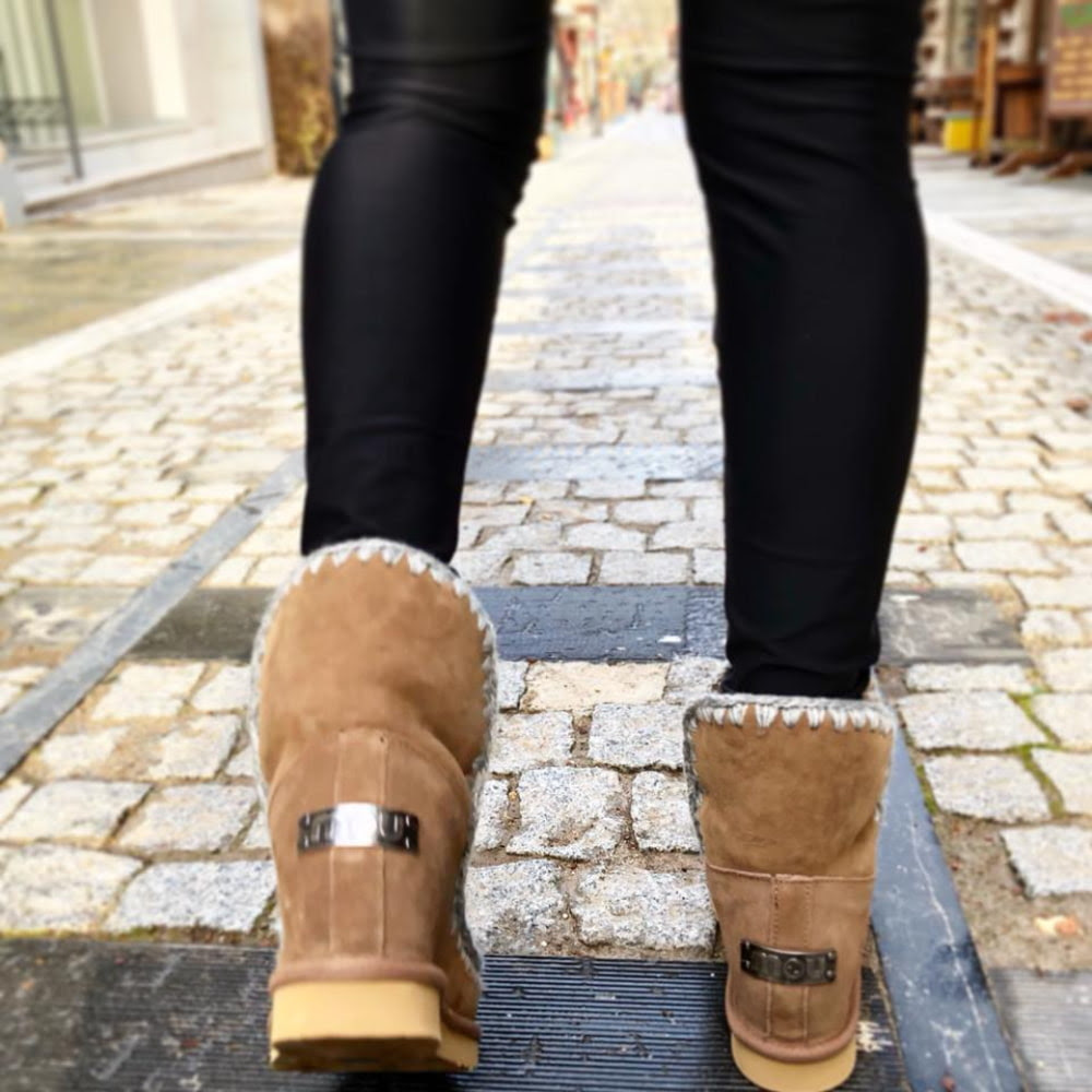Mou Boots Eskimo Suede Inner Wedges