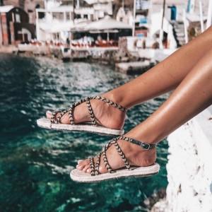 Manebi Yucatan Rope Sandals
