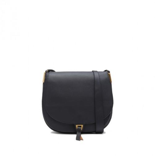 Coccinelle Arpege Black Leather Shoulder Bag