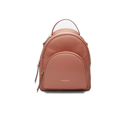 Coccinelle Lea Coral Leather Backpack