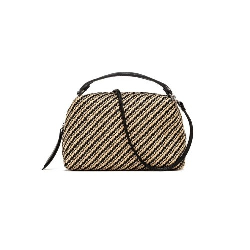 Gianni Chiarini Alifa Medium Raffia Crossbody Bag