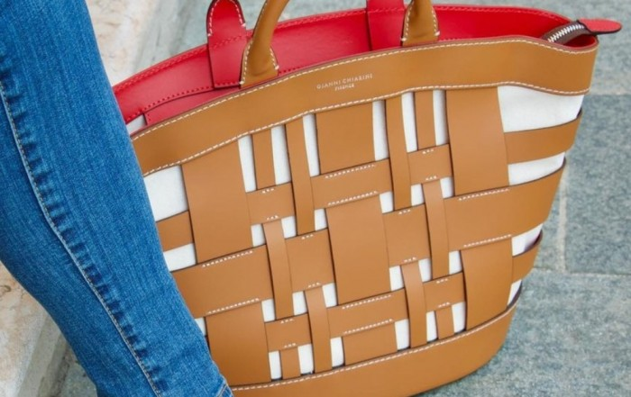Gianni Chiarini Gea Tan Leather Tote