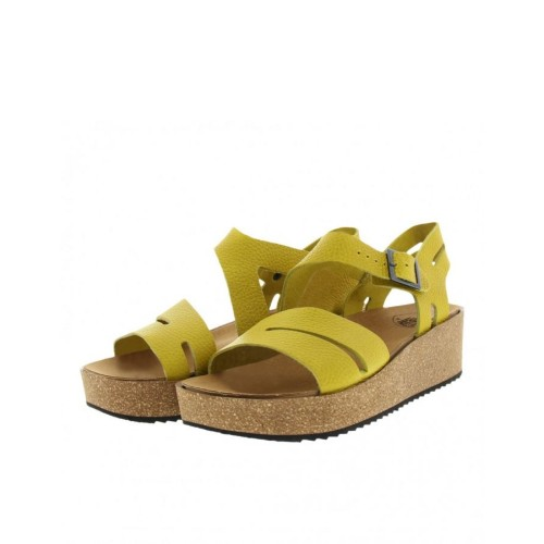 Loints Samba Ginger Leather Platforms