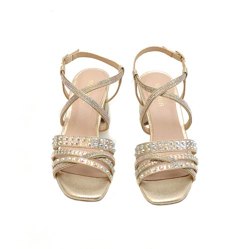 Menbur Bellizzi Strass Sandals