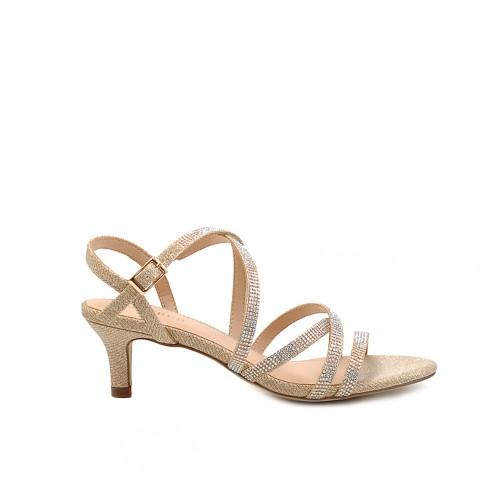 Menbur Multistrap Mid Heel Sandals