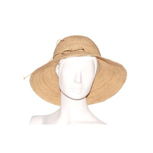 Bagatelle France Crochet Raffia Hat