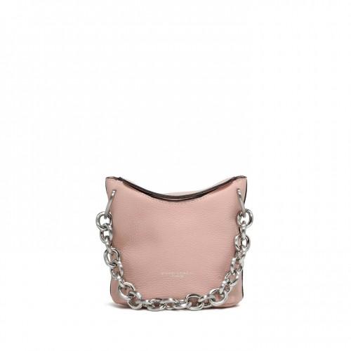 Gianni Chiarini Sophia Pink Leather Bucket