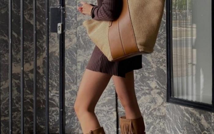 Gianni Chiarini Diletta Large Cuoio Leather Handbag