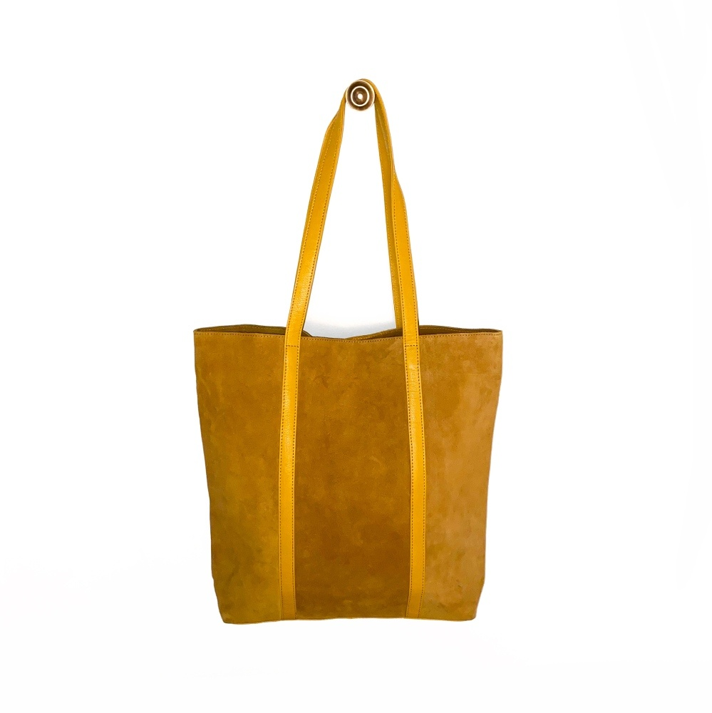 Unmade Tabac Suede Leather Shopper