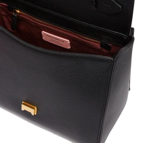 Coccinelle Josephine Black Leather Handbag