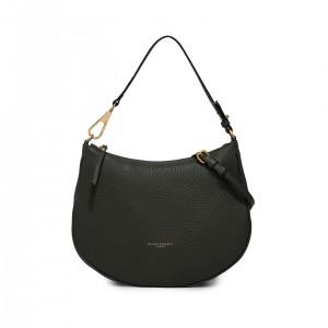 Gianni Chiarini Brooke Green Leather Shoulder Bag