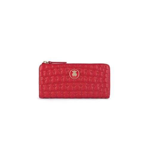 TOUS Sherton Red Wallet